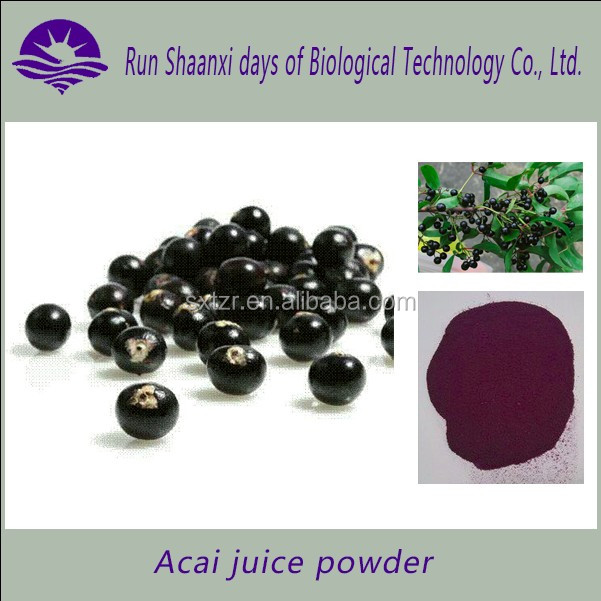 100% manufacturer import frozen acai puree / acai berry juice/acai powder 10:1