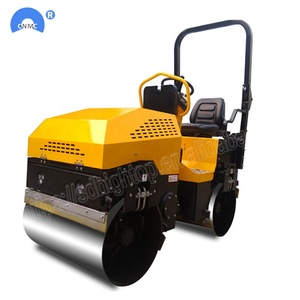Ride-on Road Roller 1 Ton Vibration Road Roller With Japan Engine