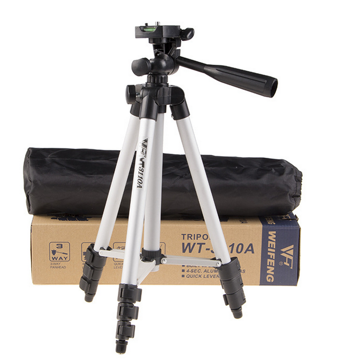 3 in 1 3110 Tripod stand With 3-Way Head Light weight Digital Camera Tripod