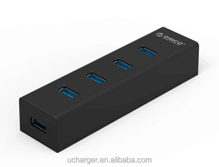 High Speed ethernet 4 port usb 3.0 usb hub