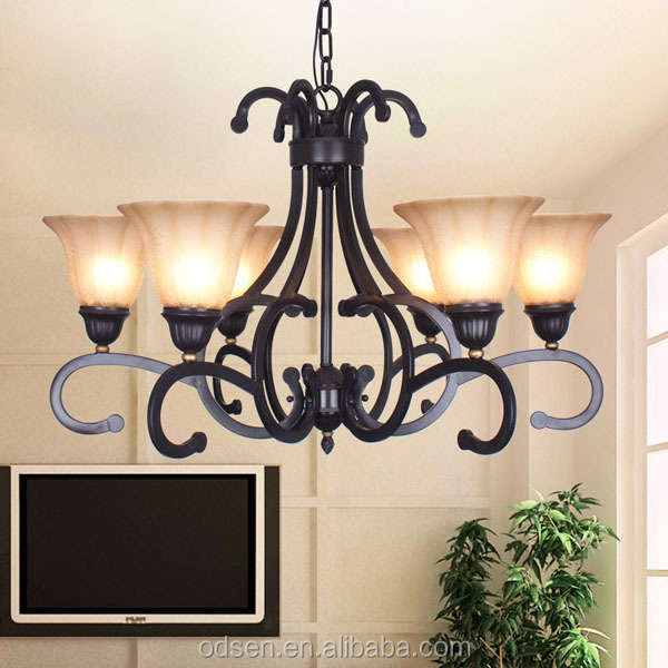 Nordic parlor simple style long modern living room chandelier