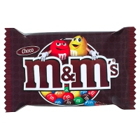 m&m chocolate