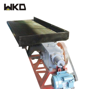 laboratory gold coltan wolfram tin ore concentrating shaking table