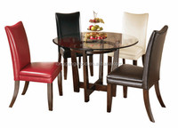 High quality round table dining set/wooden table chairs/dining room furniture