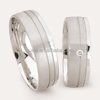 Metal Masters Co Rings Male And Female Stainless Steel Couple