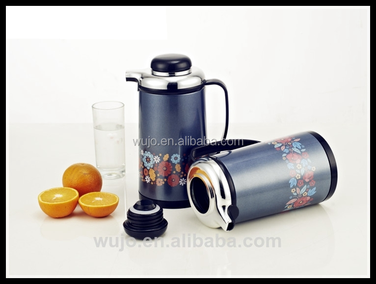 Iron body vacuum thermos flask refills
