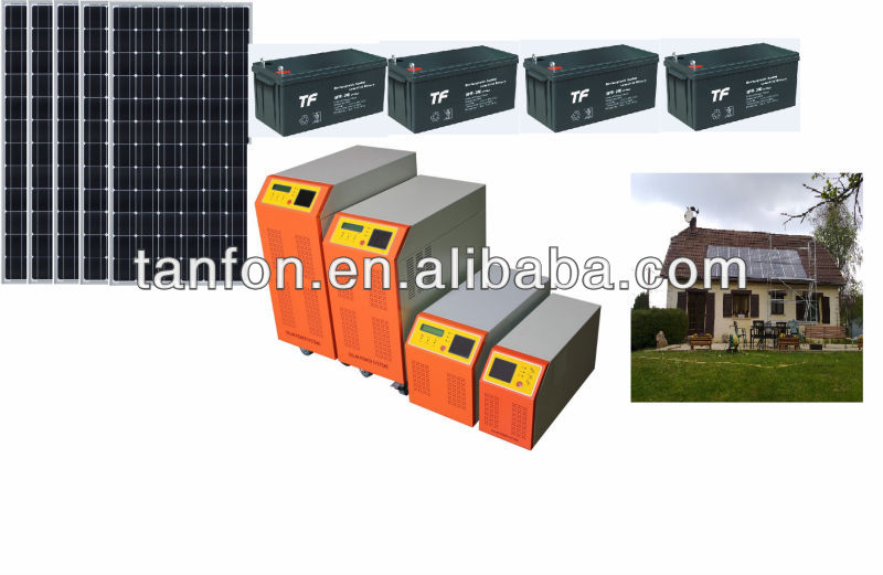 1.5KW-10KW solar off grid inverter with MPPT controller, solar hybrid inverter controller ( provide free PCB board)