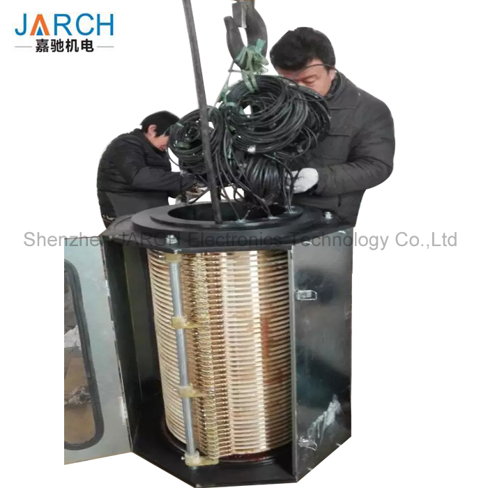 Customized Traditional Large Collector Slip Ring Electrical Contactor