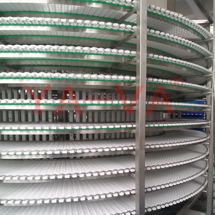 Охлаждение хлеба спиральный конвейер расстояния между конвейерами