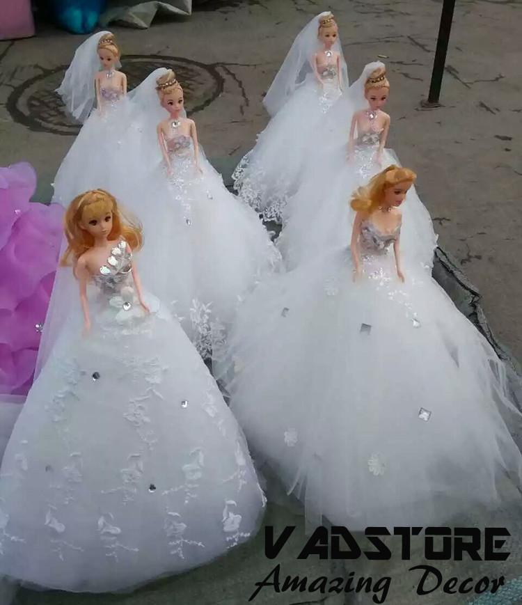 Barbie Wedding Dress Collection Bride Doll Barbie Wedding White Lace Dress Barbie Doll With Lace Dress Buy Sexy Barbie Dollsmini Barbie