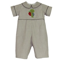 2019 Puresun neue mode khaki boutique kinder kleidung baumwolle baby-body <span class=keywords><strong>schildkröte</strong></span> applique longall