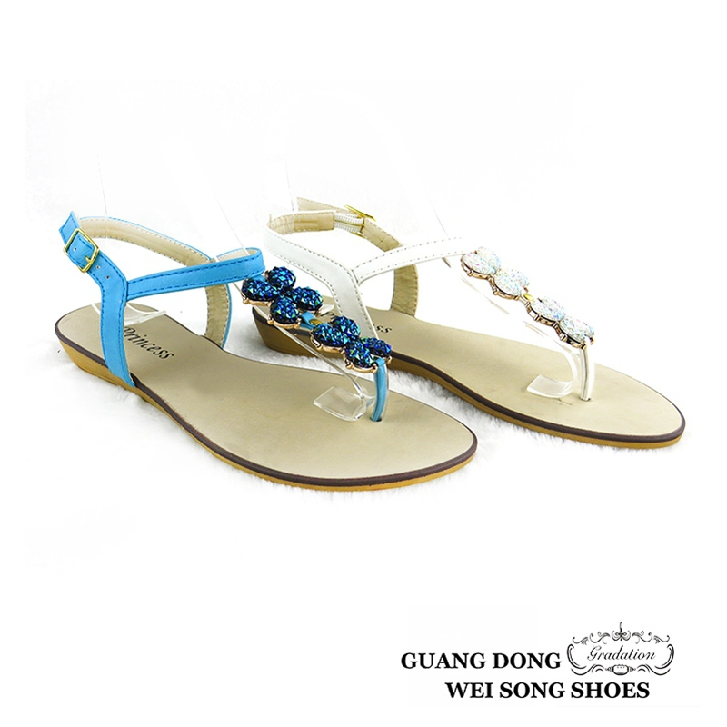 New Design Strap Buckle Chunky Low Heel Woman Sandals All Ladies ...