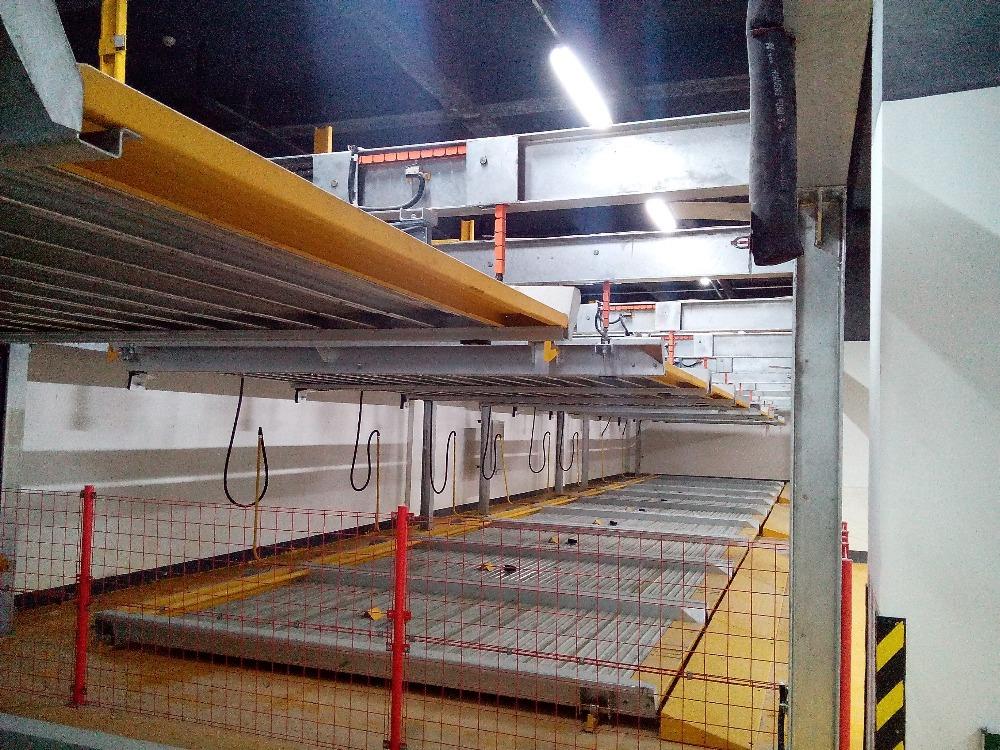 Underground Garage Cost plc control automatic parking space saver/underground parking lift