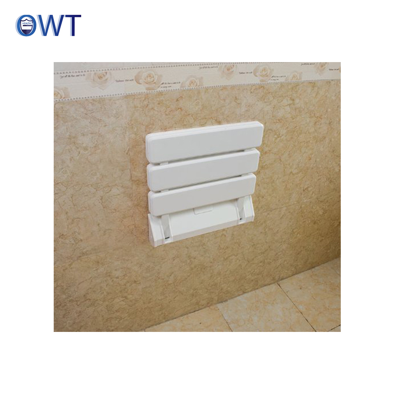 Bathroom Wall Mounted Shower Foldable Bench Seat, Bathroom Wall ...