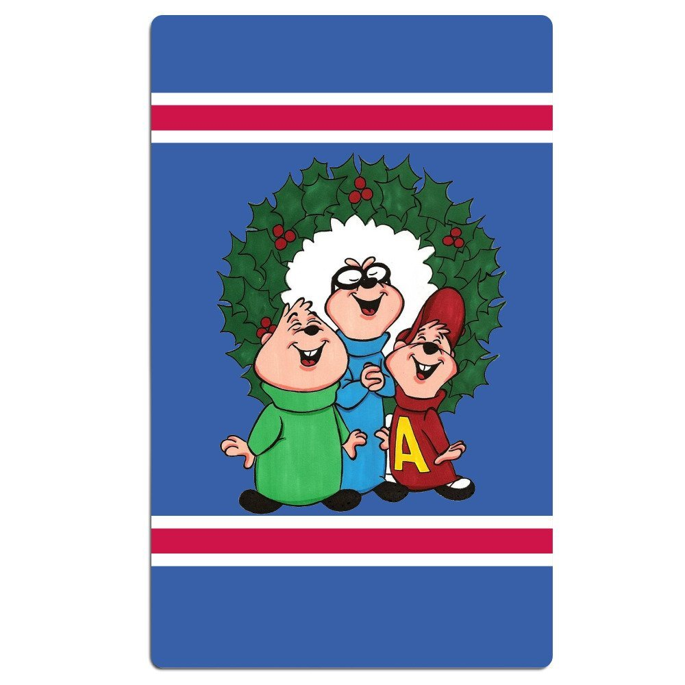 get quotations alvin and the chipmunks christmas wreath pool towel 30x50 inchadultlightweightabsorbent - Chipmunks Christmas