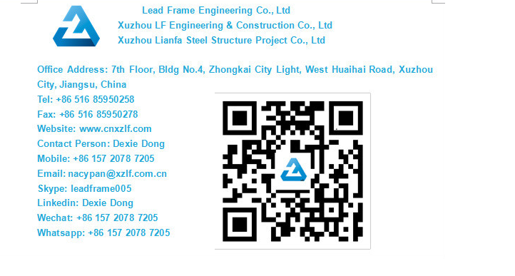 free design light prefabricated steel building