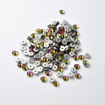 New Colorful Lochrose Shape Crystal Beads AB Sew On Stone
