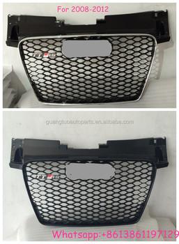 For Audi Tt Tts Ttrs Mk2 Type 8j Front Grill Grille Buy Front Grillfor