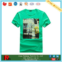 Custom design men crew neck sublimation cotton tshirt