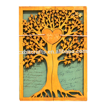 2017 New design wood tree for anniversary memento gifts