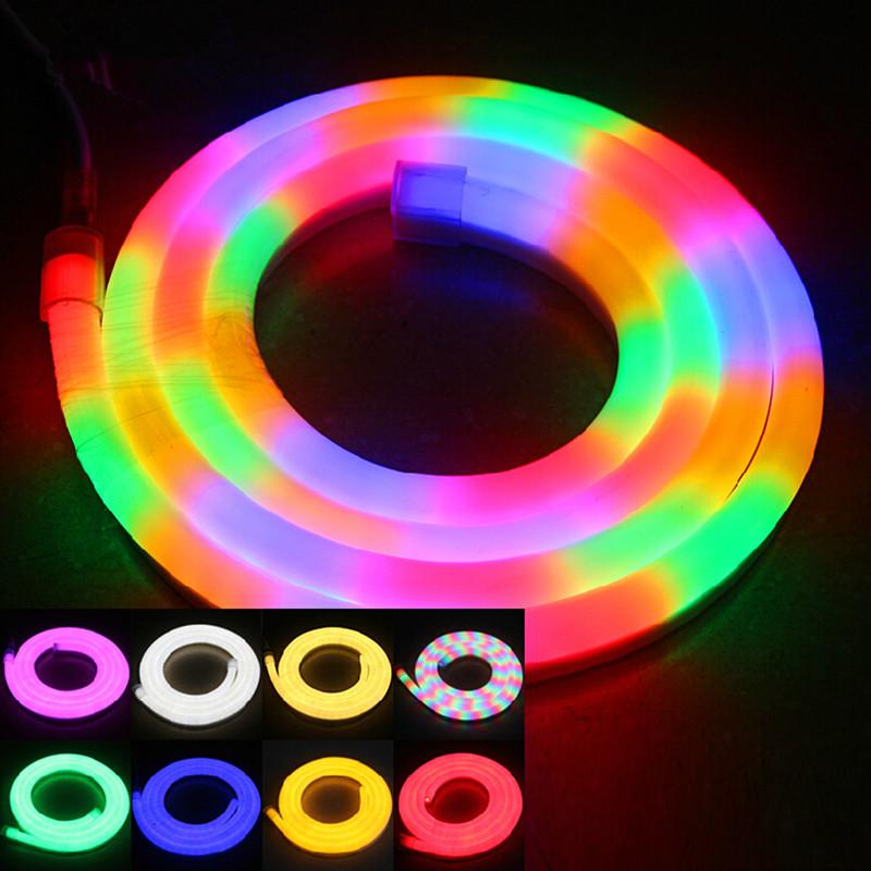 Led Rope Light Application: High Quality LED Flex Neon Rope Light Waterproof IP66