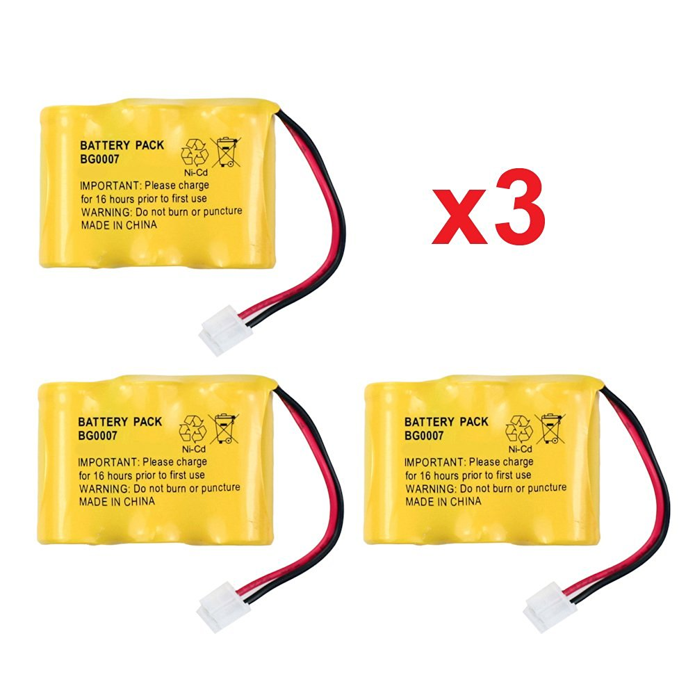 Fenzer Replacement Cordless Phone Rechargeable Battery for Sanyo 23618 3N270AA JST 5471 GESPCH03 GES-PCH03