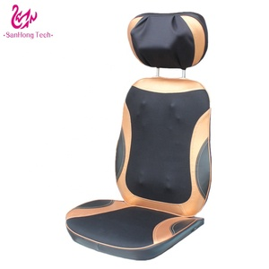 Electric infrared heat massage cushion 4D Shiatsu and Tapping relaxing back massager