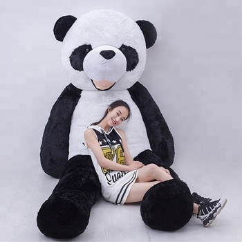Amazon Best Sales Huge Big 300cm Plush Panda Teddy Bear Toy For Kids