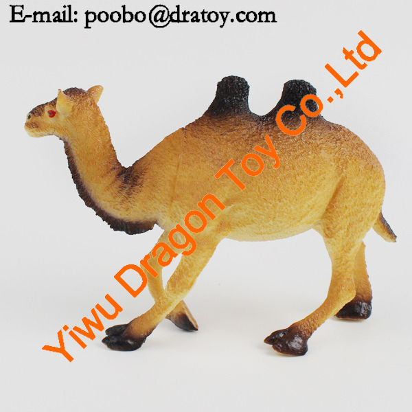 wild animal plastic toy camels