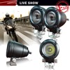 IP68 10w mini led motorcycle lights on harely davision