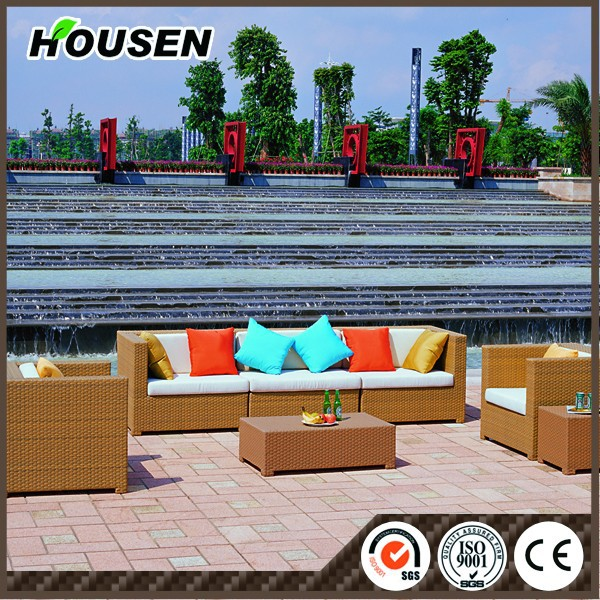 Outdoor furniture plastic bamboo outdoor furniture HS-30-ZXGS-202