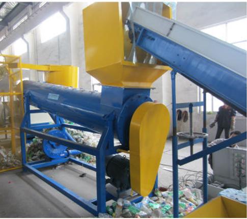bottiglie in pet di riciclo di plastica macchina bottiglia in pet impianto di riciclaggio di plastica