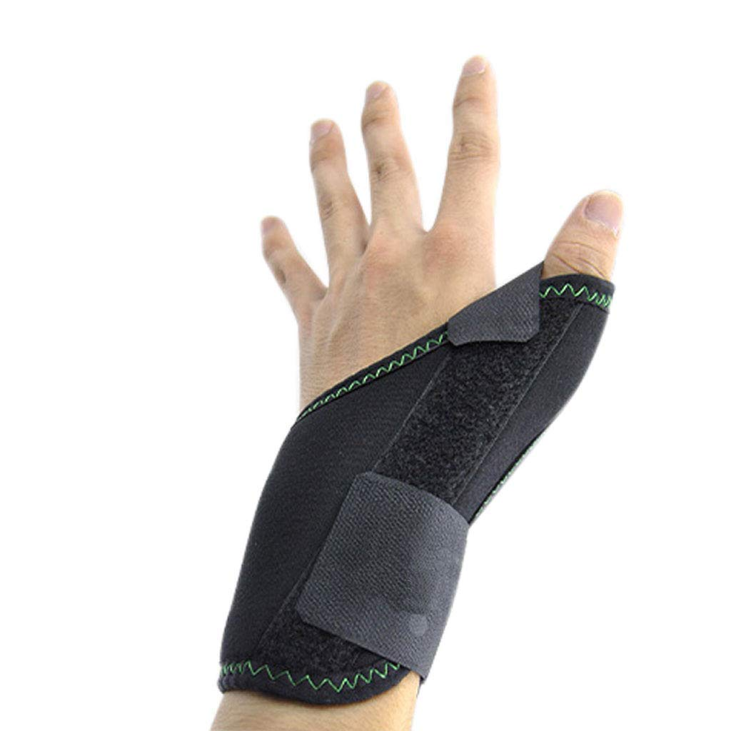 Bracers, Medical Thumb Fracture Fixed Protective Gear Finger Splint Joint Sprain Correction (Color : Right Hand)