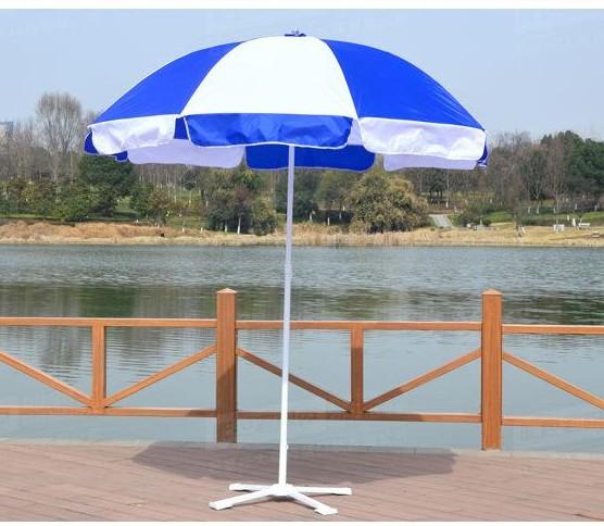 Impresión de logotipo personalizado Sol de publicidad al aire libre de jardín paraguas de playa paraguas al aire libre