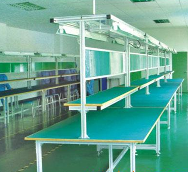 Multifunctional aluminum assembly line table table for for Html table lines
