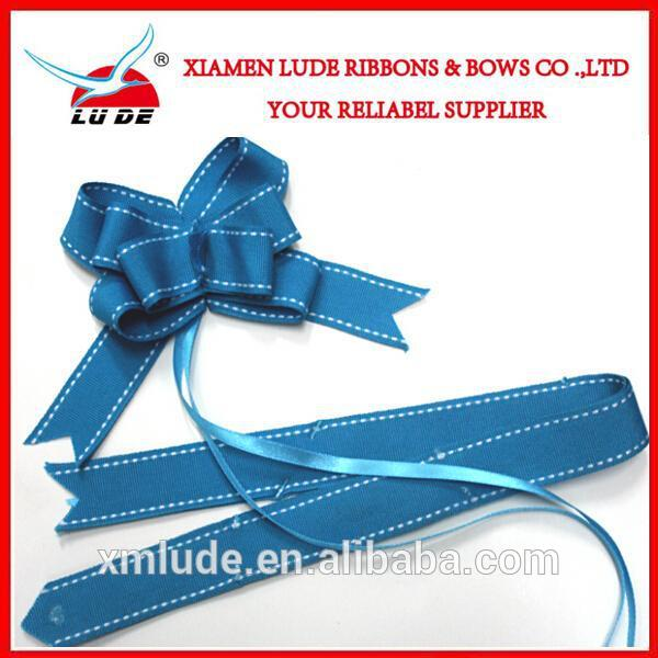 Pull Bows Ribbons Flowers for Christmas Wedding Party Decoration Gift Wrapping Pullbows