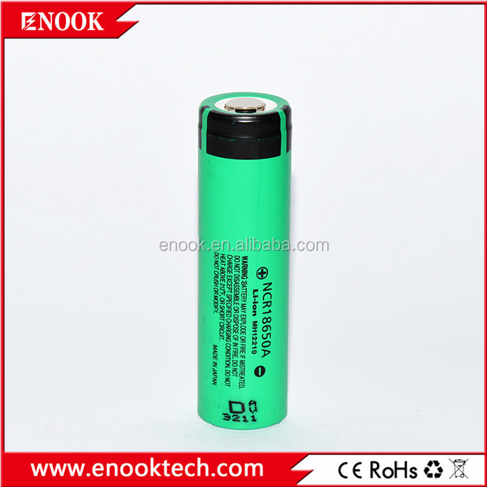 NCR18650a 3100mAh rechargeable NiMh battery 18650 battery for provari mod