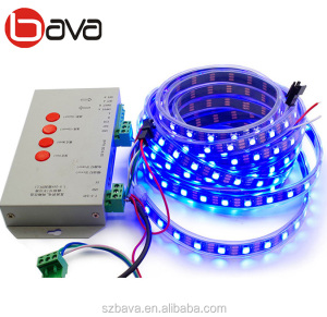 30/60/144 leds per meter Black PCB WS2812b DC5V 12V magic color rgbw / rgb led strip digital