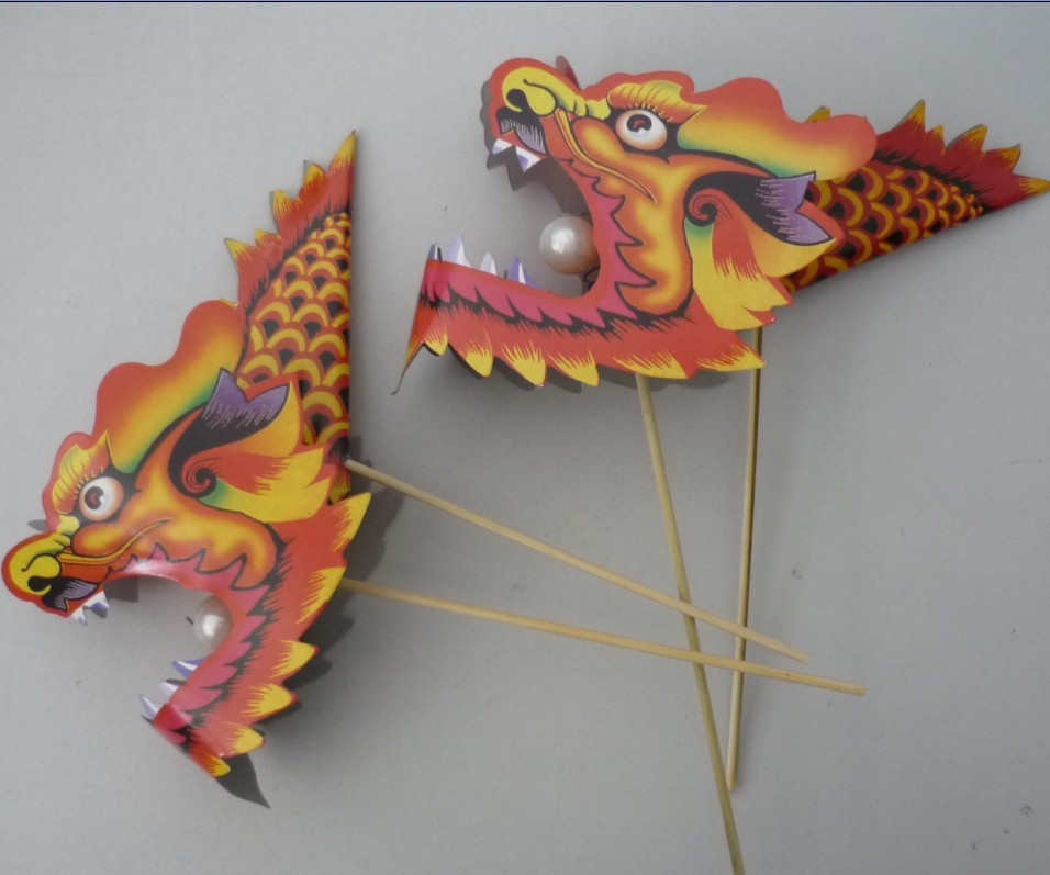 Dragon paper honeycomb chinese new year decoration items - Dragon decorations for a home ...