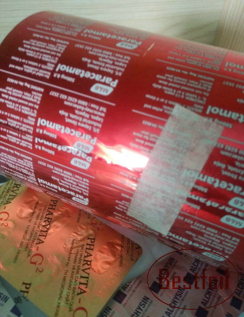Can believe blister packaging sachet strip commit
