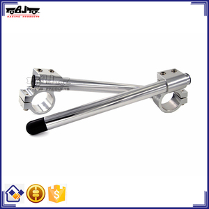 BJ-COHB-048B CNC Billet 48mm Riser CBR600RR Clip On Handle Bar For Suzuki GSXR 1000