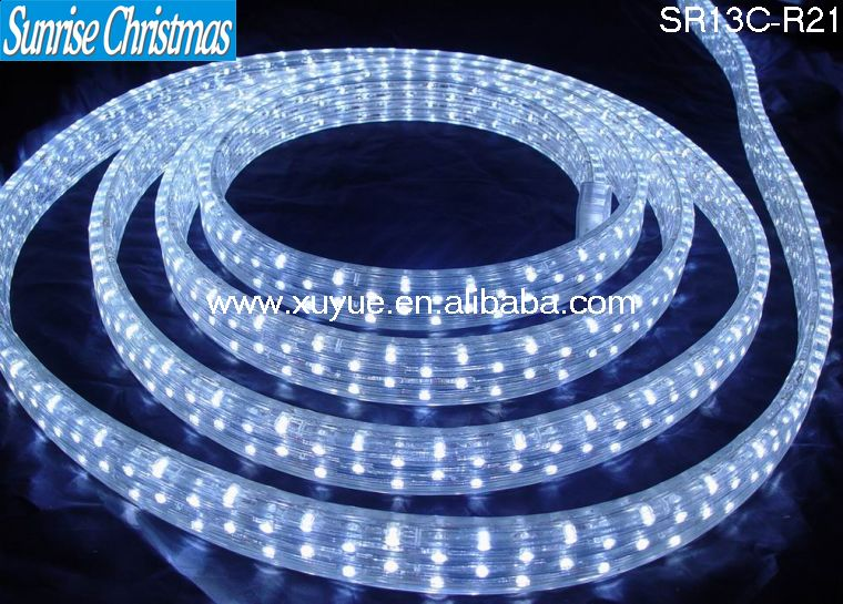 Outdoor Christmas Decorations Color Changing Led Rope Light Flat 4 ...