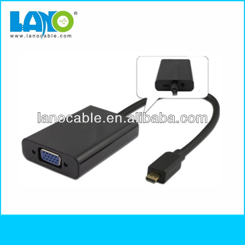 Hot sale! High quality vga to mini usb adapter