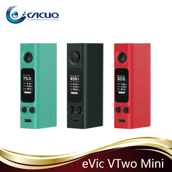 Cacuq Authentic Joyetech evic vtc mini renamed evic VTwo mini with upgradeable firmware