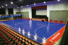 futsal pitch flooring/plastic sports tiles for futsal