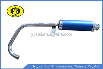 Customized high quality titanium universal racing exhaust muffler