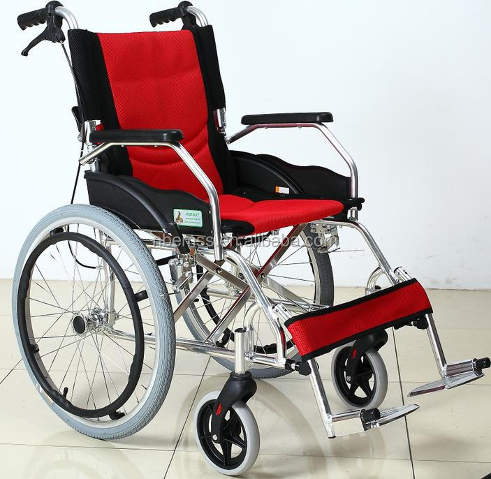 confortable and convenient Fashionable wheel chair with fold choice