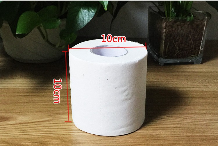 cheap bulk price customize 3ply layer recycled  toilet paper tissue roll