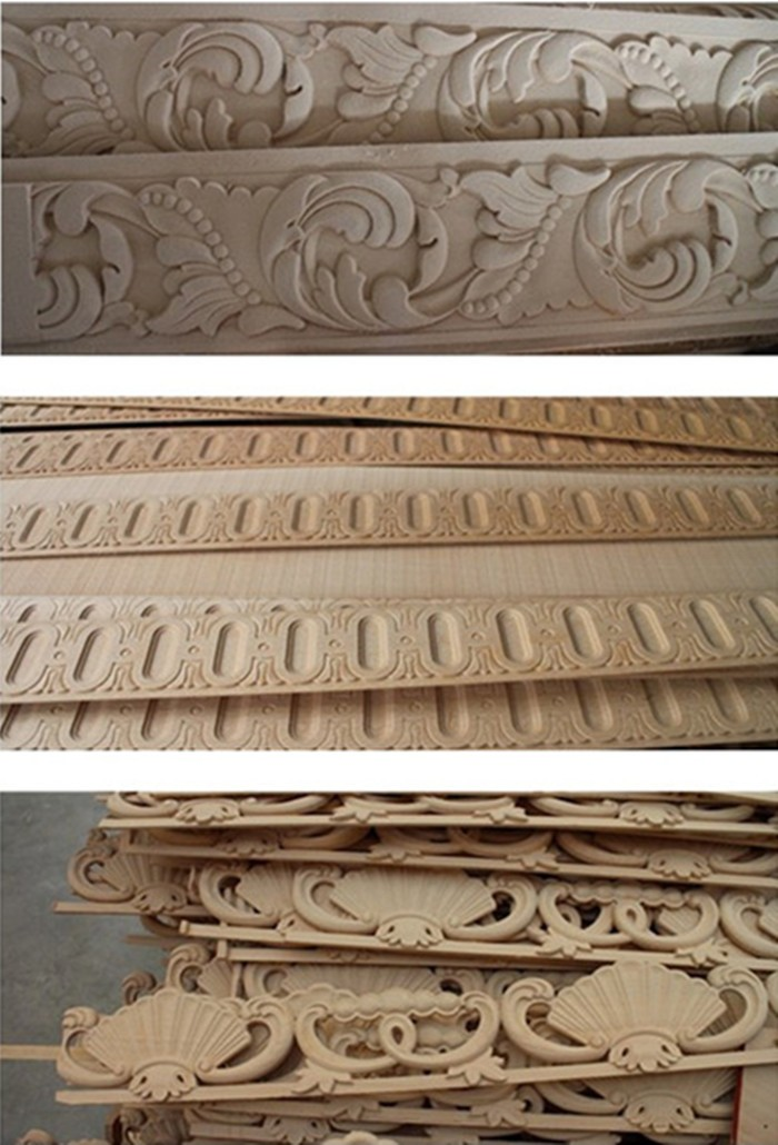 modeling strip wood moulding