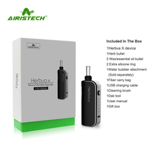 Factory Airistech Herbva X 3In1 Vape Devices 5 Temps Settings Ceramic Vaporizer Dry Herb Portable